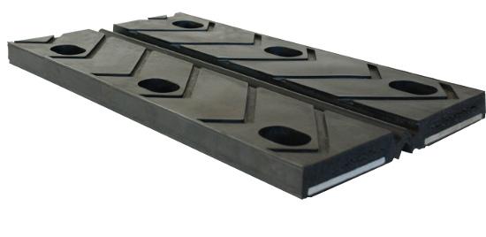Sistema di giunzione tipo omega in acciaio e neoprene vulcanizzati a caldo K Bridge