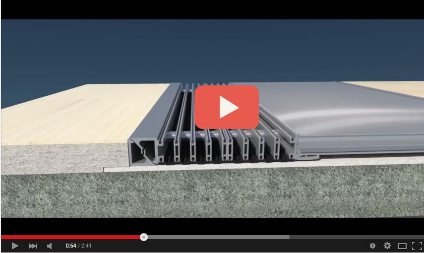 K3D, il Giunto di Dilatazione progettato per edifici con Isolamento Sisimico