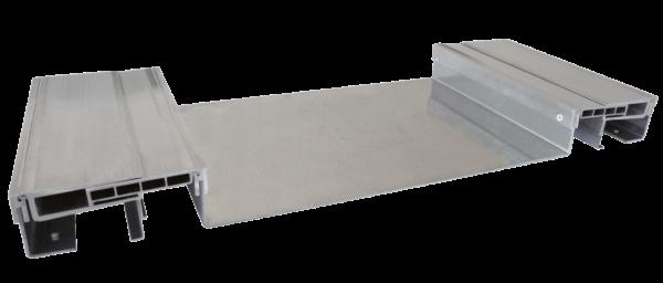 Sistema di giunzione a pavimento per giunti fino a 600 mm K MALL