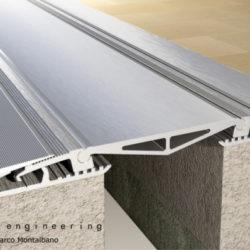 K PAD expansion joint cover Tecno K Giunti di dilatazione pavimento